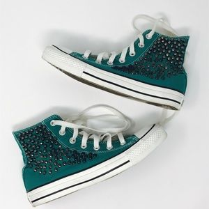 Free People Converse Studded Sneakers